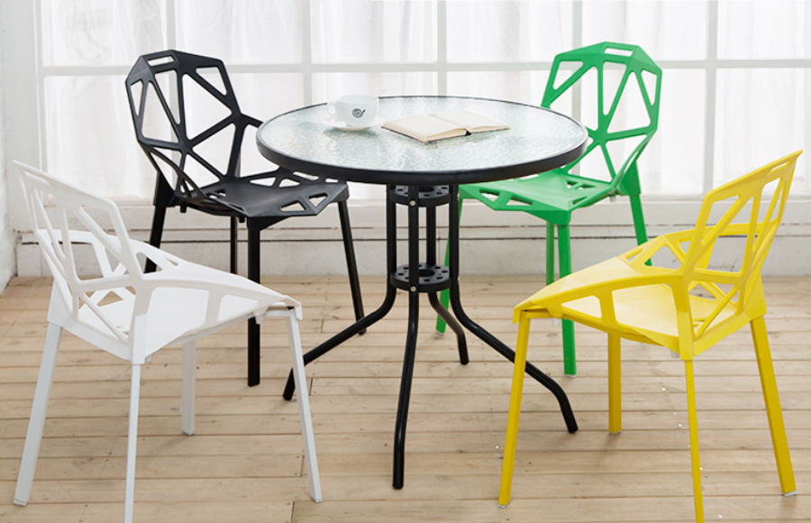 Chair With Table Set